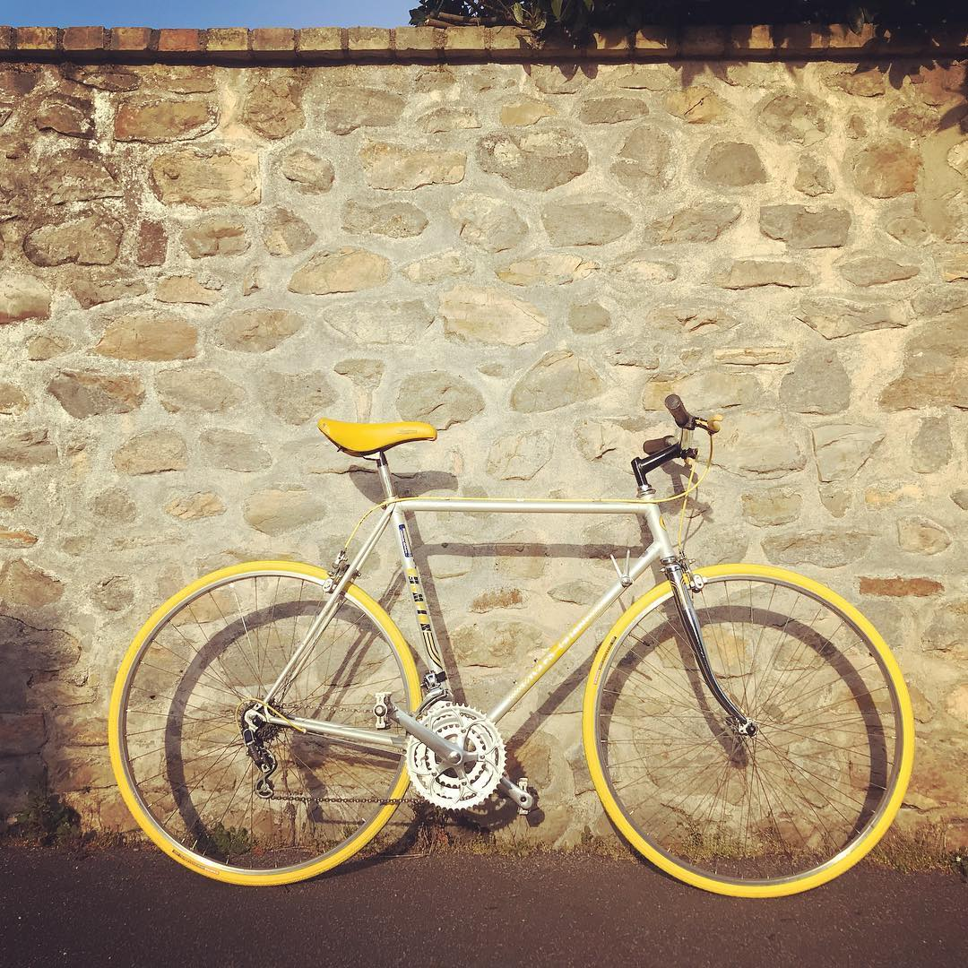 Cycles Gitane mixte jaune 1